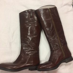 NWOT leather knee-high boots 8.5